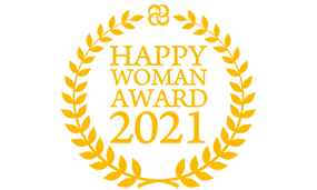 Awarded 'HAPPY WOMAN AWARD' in the corporate category