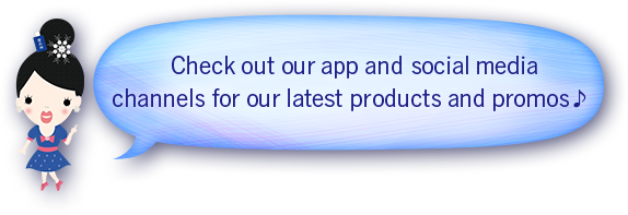 Check out our app and social media channels for our latest products and promos!
